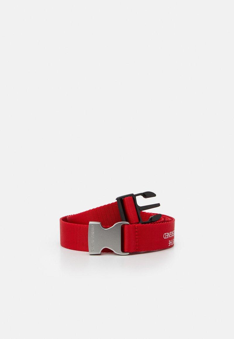 Calvin Klein Jeans - EST. 78 BELT - Ceinture - red