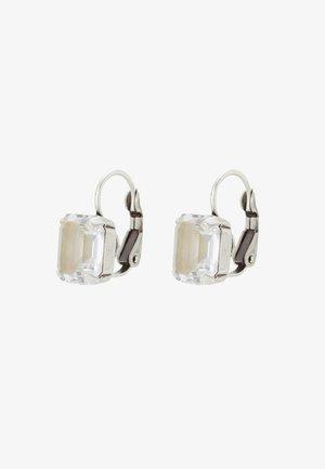 MIX THE ROCKS - Earrings - white