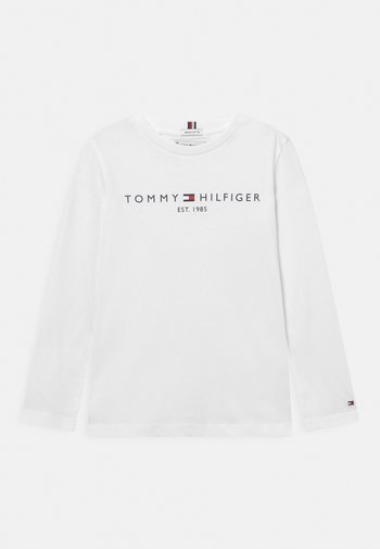 ESSENTIAL TEE UNISEX - Long sleeved top - white