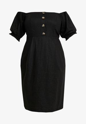 EXCLUSIVE DRESS BUBBLE - Vestido informal - black