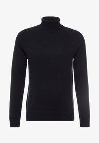 pure cashmere - TURTLENECK  - Pullover - black - 3