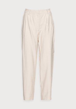 YASPERFA CROPPED PANT - Trousers - tapioca