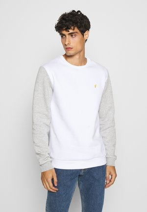 Sweatshirt - white/light grey
