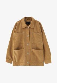 PULL&BEAR - Summer jacket - brown - 5