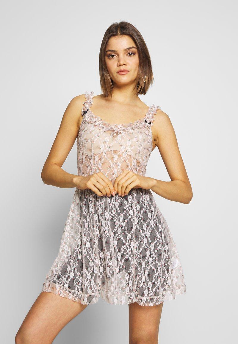 NEW girl ORDER - DITSY DRESS - Kjole - beige