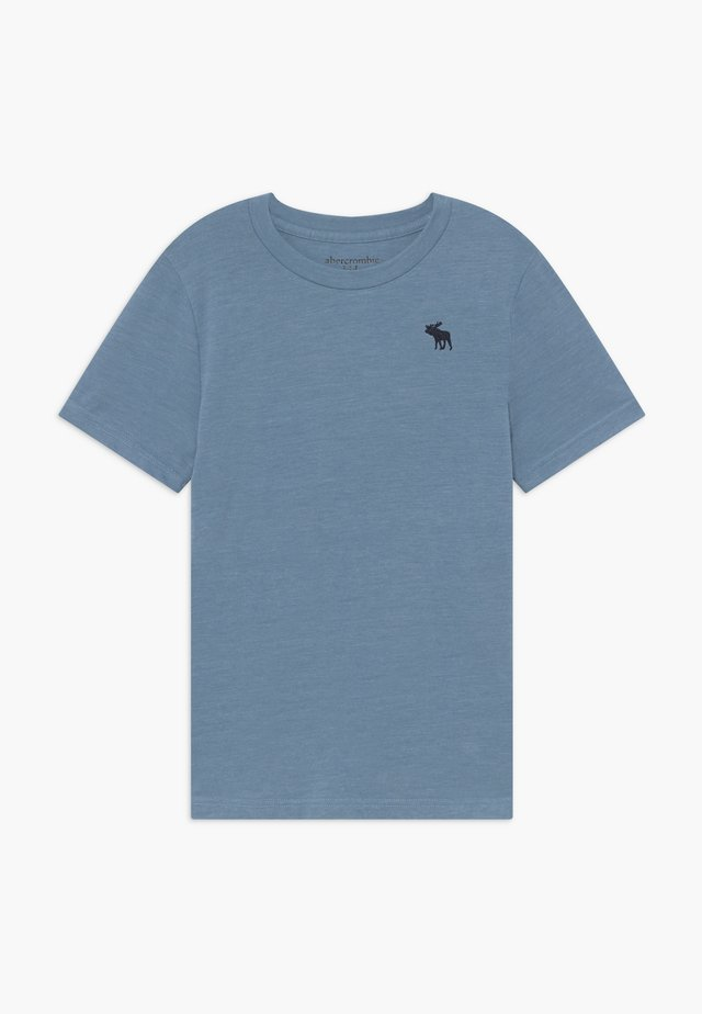 BASIC SOLID TEE - T-shirt basic - texural blue shadow