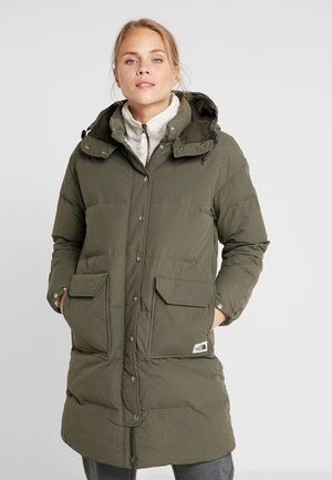 SIERRA LONG JACKET - Down coat - new taupe green