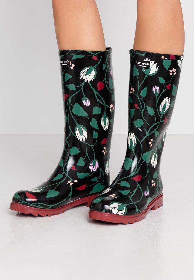 RENATA - Stivali di gomma - black