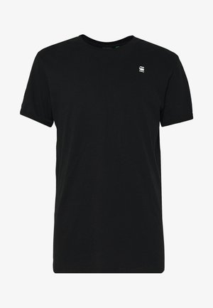 LASH ROUND SHORT SLEEVE - T-shirt - bas - black