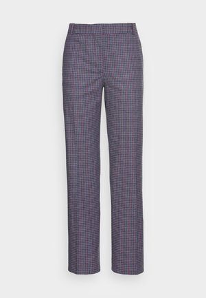 POLLY MICRO CHECK TROUSERS - Trousers - multicolor