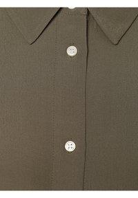 Opus - FARTAN - Button-down blouse - oliv - 2