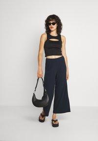 Monki - Trousers - blue dark - 1