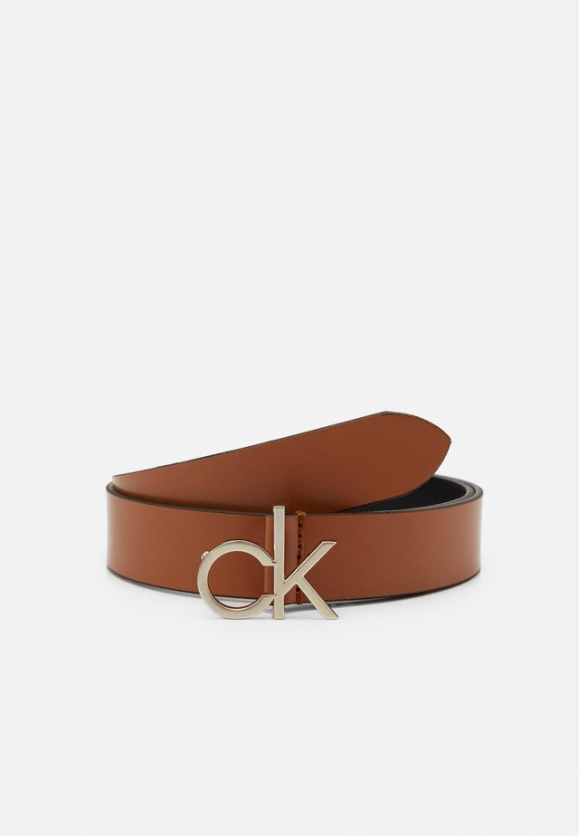 LOGO BELT - Belt - brown