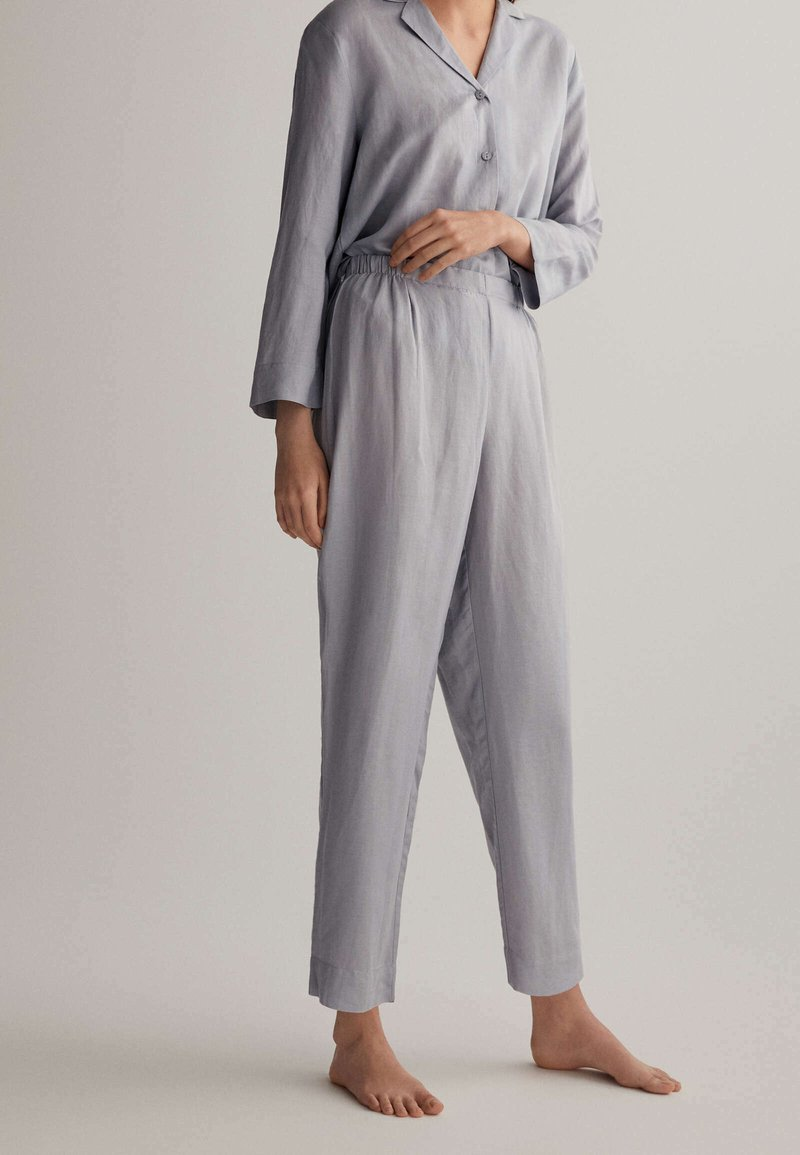 OYSHO - Pyjama bottoms - light blue