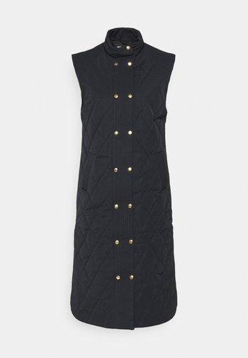 IHANNIE - Waistcoat - dark navy