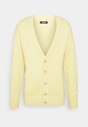 UNISEX - Chaqueta de punto - light yellow