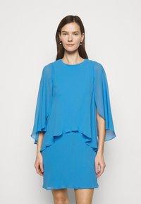Lauren Ralph Lauren - CLASSIC DRESS - Koktejlové šaty/ šaty na párty - captain blue - 0