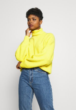 VMMIZA ROLL NECK - Jumper - celery