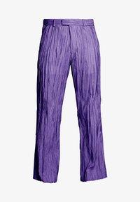 Hope - HIDE TROUSER - Trousers - purple - 4