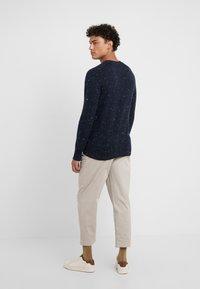Drumohr - CREW NECK - Pullover - blue - 2