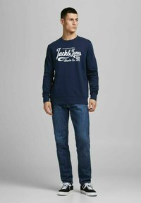Jack & Jones - 2PACK - Sweatshirt - black - 0