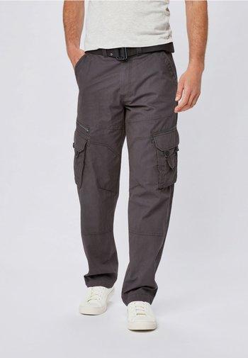 TECH - Cargo trousers - grey