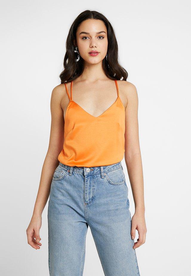 HAYES - Top - orange