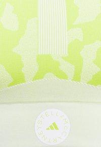 adidas by Stella McCartney - BRA - Light support sports bra - yellow/white - 2