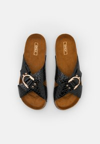 ONLY SHOES - ONLMAXI CROSSOVER - Mules - black - 5