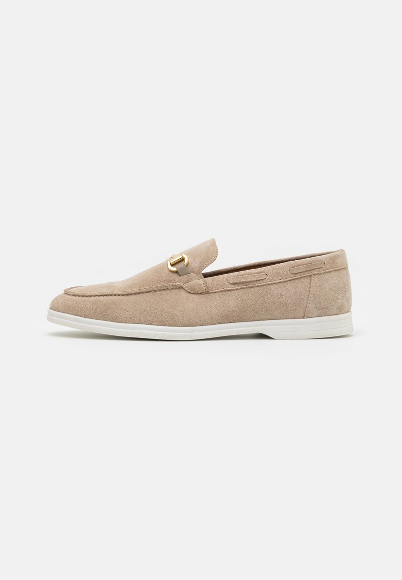 Walk London - STREAM TRIM LOAFER - Chaussures bateau - beige