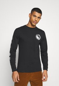 Santa Cruz - SCREAM YING YANG UNISEX - Camiseta de manga larga - black - 2