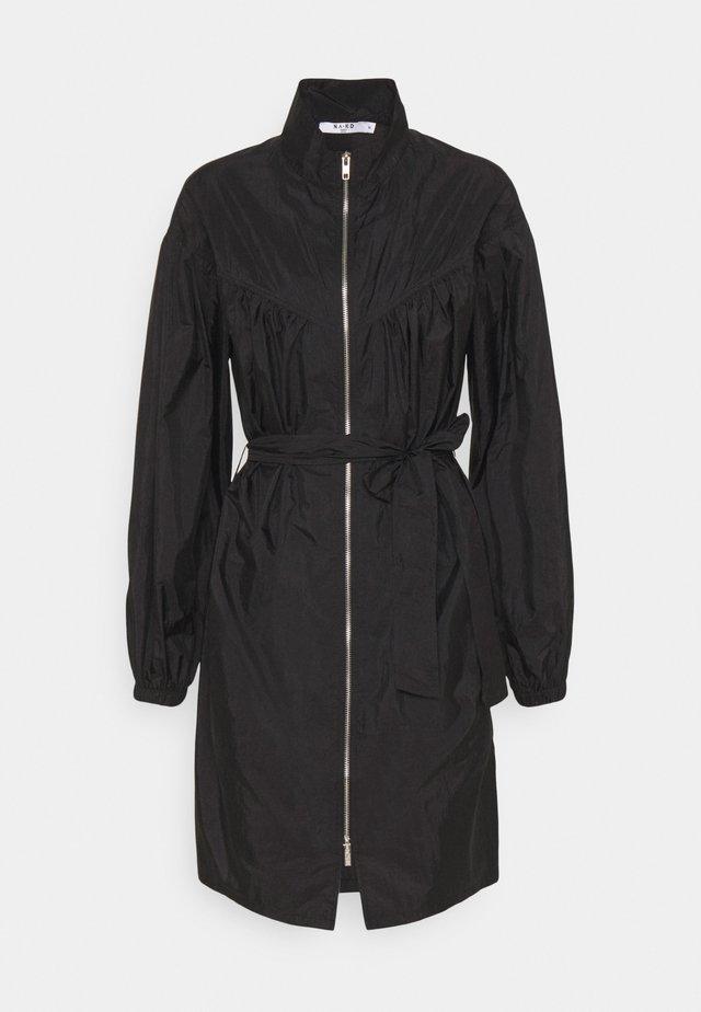 SPORTY DRESS - Korte jurk - black