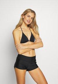 ONLY - ONLANNA SWIM - Bikini bottoms - black - 1