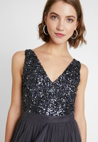 Sista Glam - MELODY - Cocktail dress / Party dress - charcoal - 4