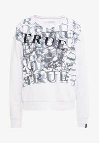 True Religion - PRINTED - Sweatshirt - white - 3