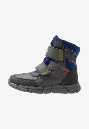 FLEXYPER BOY ABX - Winter boots - dark grey/blue