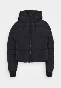 Monki - AMBER SHORT - Winter jacket - black dark - 0