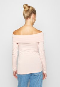 Vero Moda - VMPANDA OFF SHOULDER - Long sleeved top - sepia rose - 2