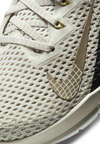 Nike Performance - METCON 6 - Sports shoes - light orewood brown/dark smoke grey/metallic gold - 6