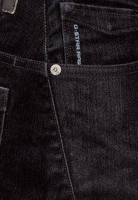 G-Star - SCUTAR 3D SLIM TAPERED - Slim fit jeans - black iced flock - 1