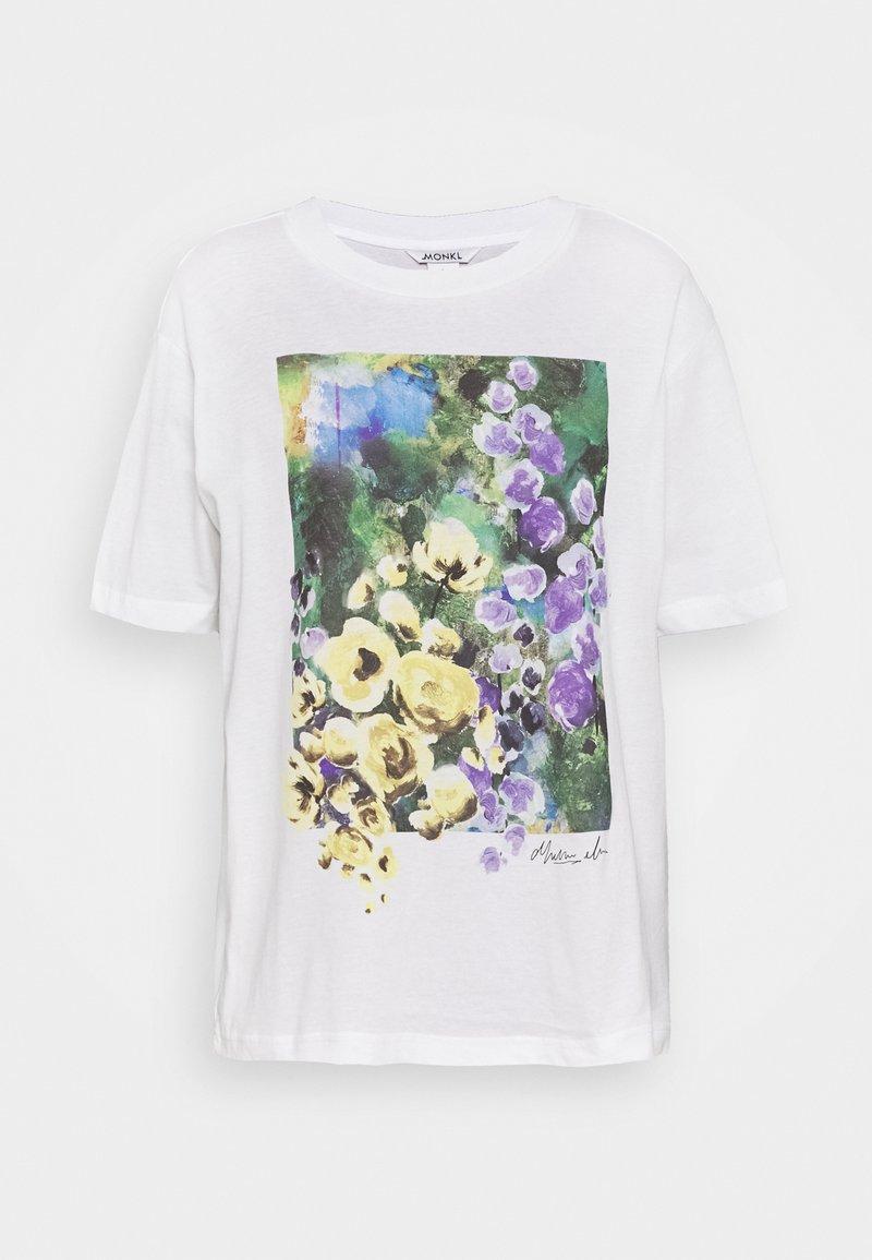 Monki - TOVI TEE - T-shirt print - white