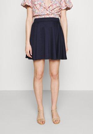 VITINNY FLARED SKIRT - Mini skirt - navy blazer