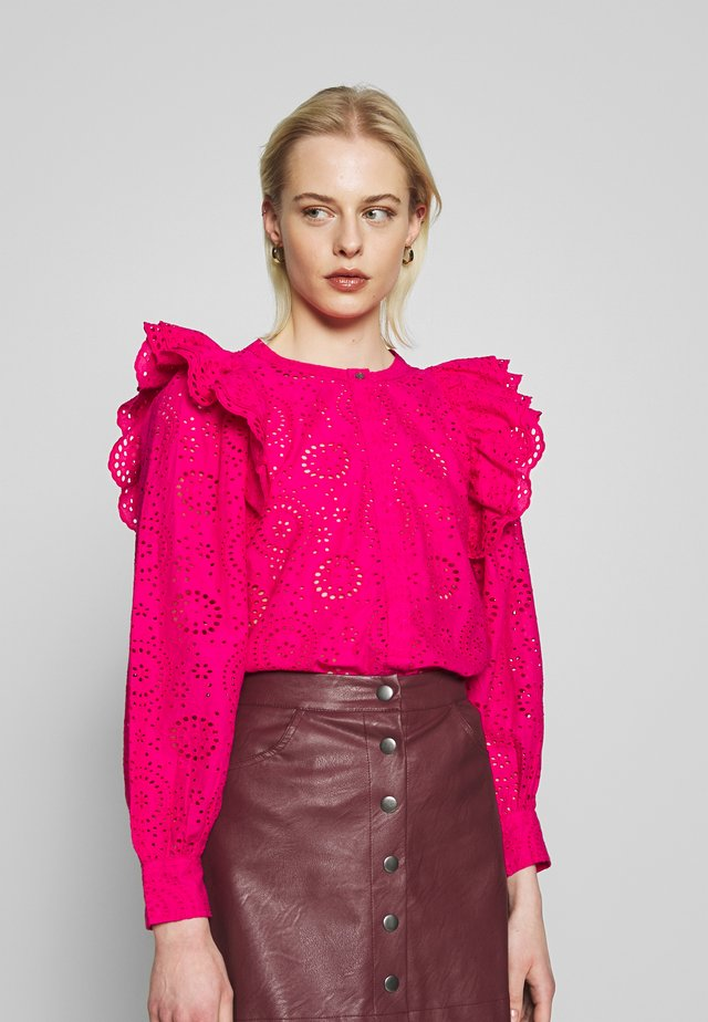 INESA - Button-down blouse - rose