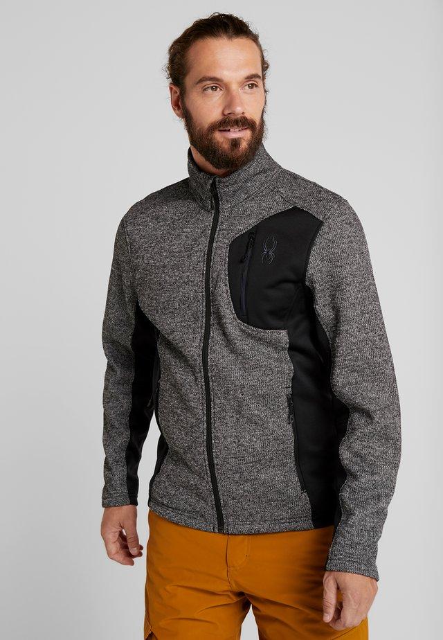 BANDIT FULL ZIP - Fleecová bunda - black