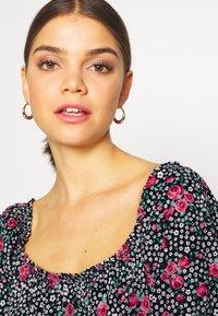 Miss Selfridge - SQUARE NECK SHIRRED DRESS - Robe d'été - multi-coloured - 3