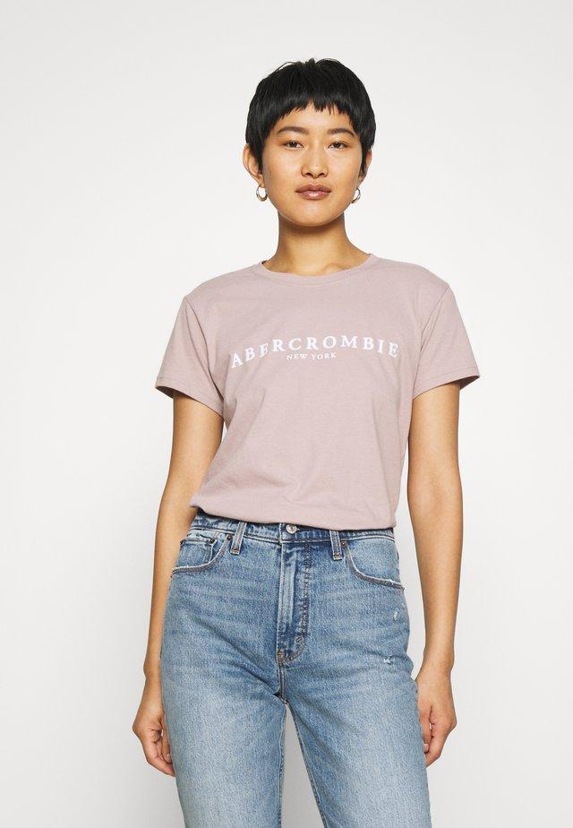PARIS LOGO TEE  - T-shirt print - pink