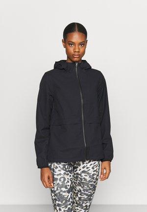 PACK IT UP - Sports jacket - black