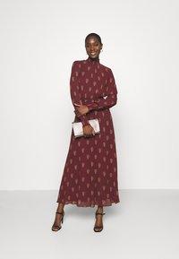 IVY & OAK - RAPA - Maxi dress - bordeaux - 1