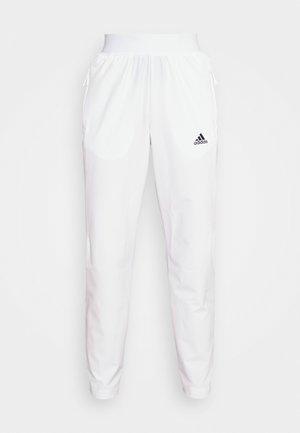 TENNIS PANT - Joggebukse - white/black