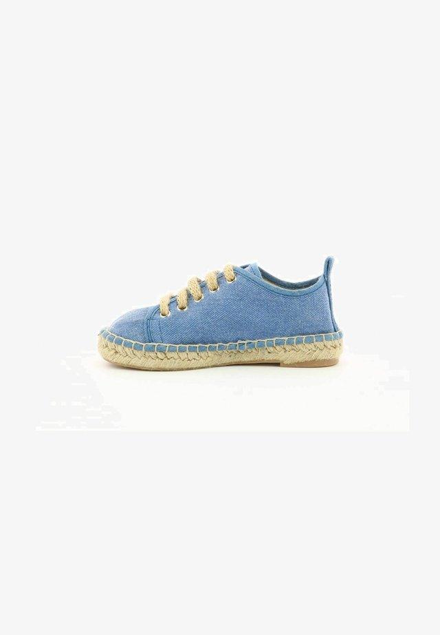 MANOUCHKA - Chaussures à lacets - bleu fonce